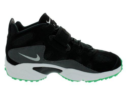 Nike Mens Air Turf Raider Nero / Wlf Grigio / Drk Grigio / Gmm Grn Scarpe Da Allenamento 11,5 Uomini Noi