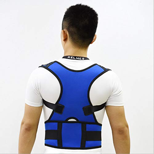 Back Support Belt Adult Prevention Humpback Breathable Correction Belt, Suitable for Men and Women to Expand The Shoulders, Back Straight Waist and Abdomen Relieve Pain Suitable for Hunchback Sitting