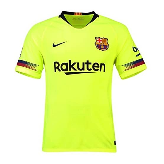 2018-19 Barcelona Away Football Soccer T-Shirt Maillot (Luis Suarez 9)