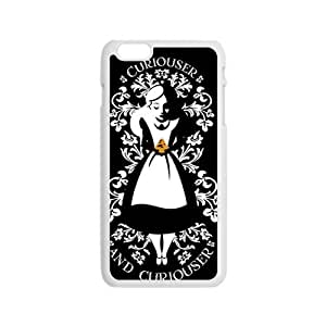 alice in wonderland curiouser and curiouser Phone Case for Iphone 6