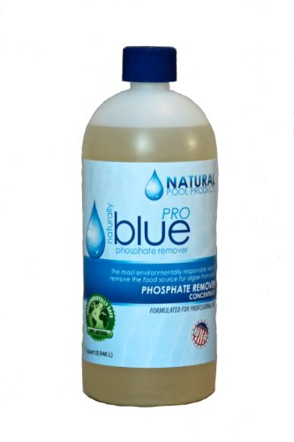 Naturally Blue Pro Phosphate Remover, 1 Quart