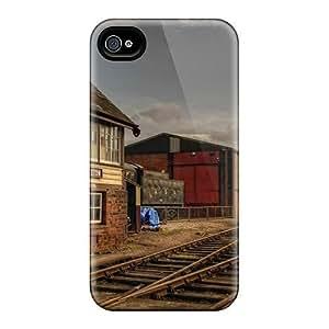 New Arrival Autumn Free Train Station BTDFwJo7388mrZhc Case Cover/ 4/4s Iphone Case