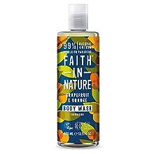 Faith in Nature - Gel de de baño de Pomelo y Naranja - 400ml