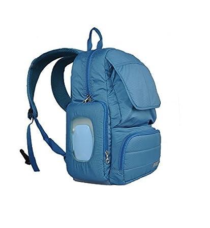 Bebamour gran capacidad bolsa de pañales bebé mochila con correas para el carrito, con bolsillo