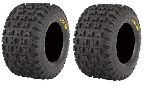Pair of Maxxis Razr MX Rear ATV Tires 18x10-9 (2)