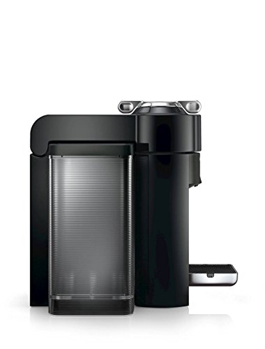Nespresso A+GCC1-US-BK-NE VertuoLine Evoluo Deluxe Coffee & Espresso Maker with Aeroccino Plus Milk Frother, Black