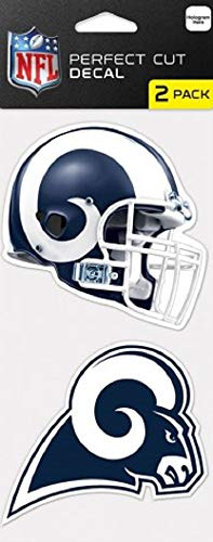 St. Louis Rams Set of 2 Die Cut Decals