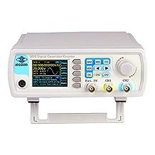 Terowa High Precision Digital Dual-channel DDS Function Signal Generator Arbitrary Waveform Pulse Signal Generator 40MHz JDS6600-40M