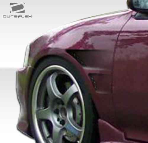 Fenders Duraflex Gt Concept (1992-1995 Honda Civic 2DR / HB Duraflex GT Concept Fenders - 2 Piece)