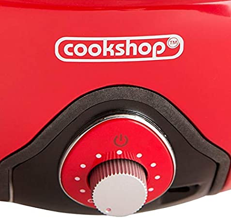 Cookshop BBQ Grill with Bag /& Thermostate Lid