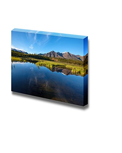 Serenity Lake in Tundra on Alaska Home Deoration Wall Decor ing