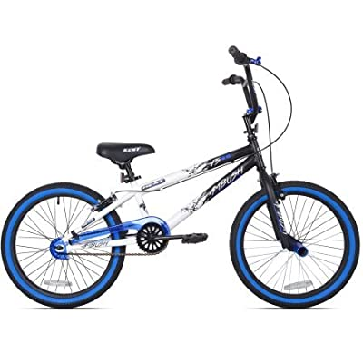 "KENT 20"" Ambush Boys' BMX Bike, 42062, Blue (Blue) : Sports & Outdoors"