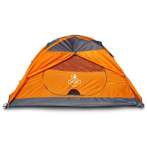 Archer Outdoor Gear 1 Man Camping & Backpacking Tent Ultralight, Spacious & Waterproof