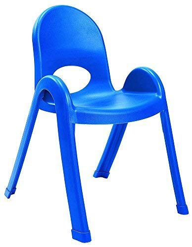 Angeles 13-Inch Value Stack Chairs Set of 4 (Royal Blue)