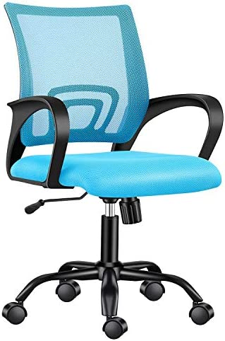 LUXMOD Office Chair in MESH Teal