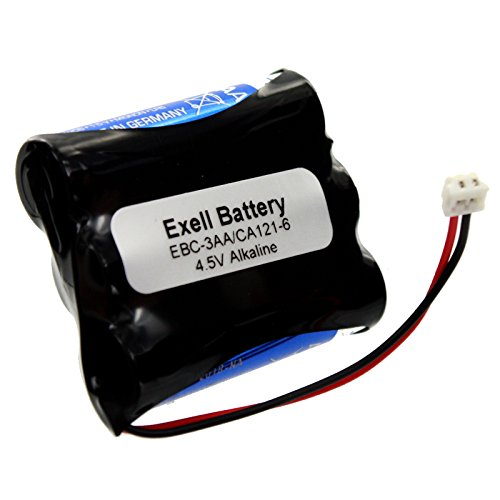 Battery Array Cabinet - Exell 4.5V Door Lock Battery Fits VingCard Type 3 LCU Classic Mag