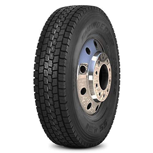 Thunderer UA411 Commercial Truck Radial Tire-255/70R22.5 140L 16-ply by Thunderer