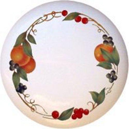 Abundance Fruit BC Kitchen Decorative Glossy Ceramic Drawer (Abundance Fruit)