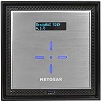NETGEAR ReadyNAS RN524X00 4 Bay Diskless Premium Performance NAS, 40TB Capacity Network Attached Storage, Intel 2.2GHz Dual Core Processor, 4GB RAM