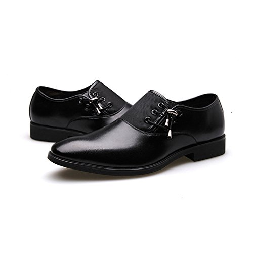 Phil Betty Men Business Dress Loafers - Luxury Pointy Breathable Formal Wedding Oxford Shoe