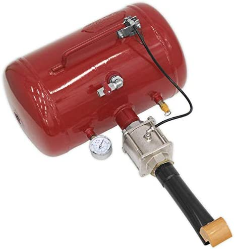 Sealey TC904 Push Button Trigger Bead Seating Tool Red 19 Litre