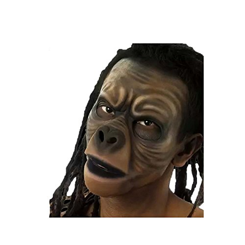 [Cinema Secrets Woochie Hand Painted Ape Face Latex Appliance Kit] (Planet Of The Apes Costumes)