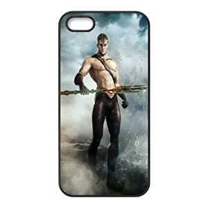 Printed Phone Case Aquaman For iPhone 5, 5S M2X3113114