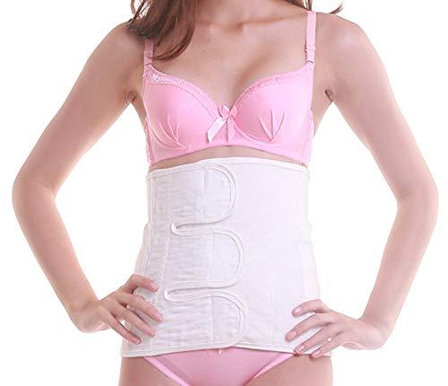 - Postpartum Belly Wrap C-section Waist Belt Body Shape Wrap Postnatal Support Shape wear,Cotton M White
