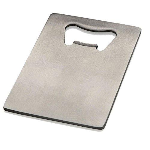 Cheap Generic Credit Card Bottle Opener for Your Wallet Stainless Steel