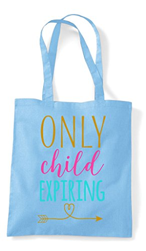 Announcement Child New Expiring Shopper Sky Family Tote Only Baby Bag Notice Blue wHUXnqCxq