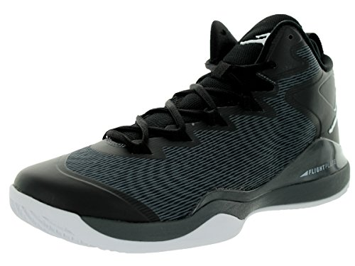 Nike Jordan Super Fly 3 Black Grey Mens Trainers - 684933-003