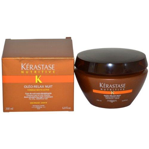 Kerastase Nutritive Oleo Relax Nuit Nutri-Disciplining Night Treatment Unisex Treatment by Kerastase, 6.8 Ounce ()