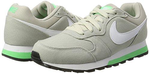 Nike Electro Runner Fitness Women's Grigio Scarpe Donna Pâle gris Shoe vert blanc 2 Md rOrZqA