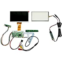 NJYTouch HDMI AV Remote Driver Board+6.5 800x480 AT065TN14 LCD Screen + 6.5inch Touch Panel Kit