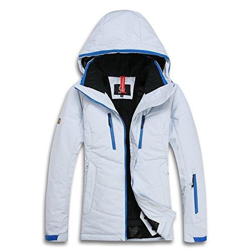 BOGNERレディーススノーボードスキーウェアAPF-0220(ホワイト、XL)G-HOUSEオリジナルグッズ付