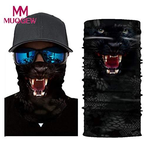 E CUSHY Bandana Magic Scarf Cycling Motorcycle Head Scarf Warmer Face Mask Ski Balaclava Headband Mens Bandanas Neck Gaiter Headwear One Size
