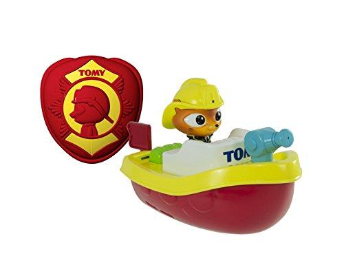 Tomy E72425 - Ferngesteuertes Feuerwehrboot, mehrfarbig