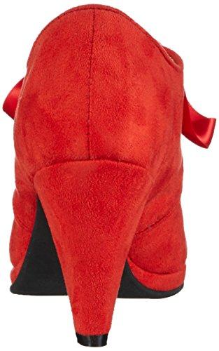 Andrea Conti 0591504 - Tacones Mujer Rojo - Rot (rot 021)