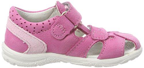Ricosta Mädchen Kaspi Geschlossene Sandalen Pink (Peony)