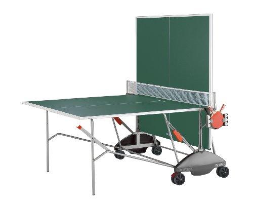 Kettler 7176-090 Match 5.0 Indoor/Outdoor Table Tennis Table, Green Top
