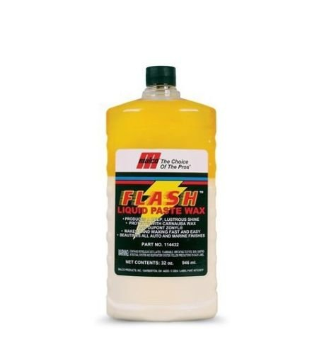 Malco Flash Wax Cera di Carnauba Rapida per Auto Professionale 946 ml Polish