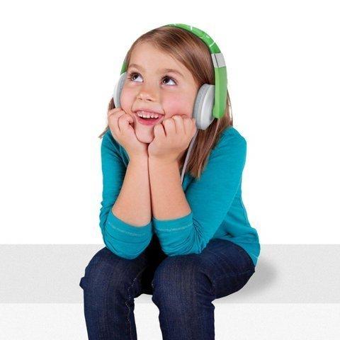 Leapfrog Headphones, Green. Leap