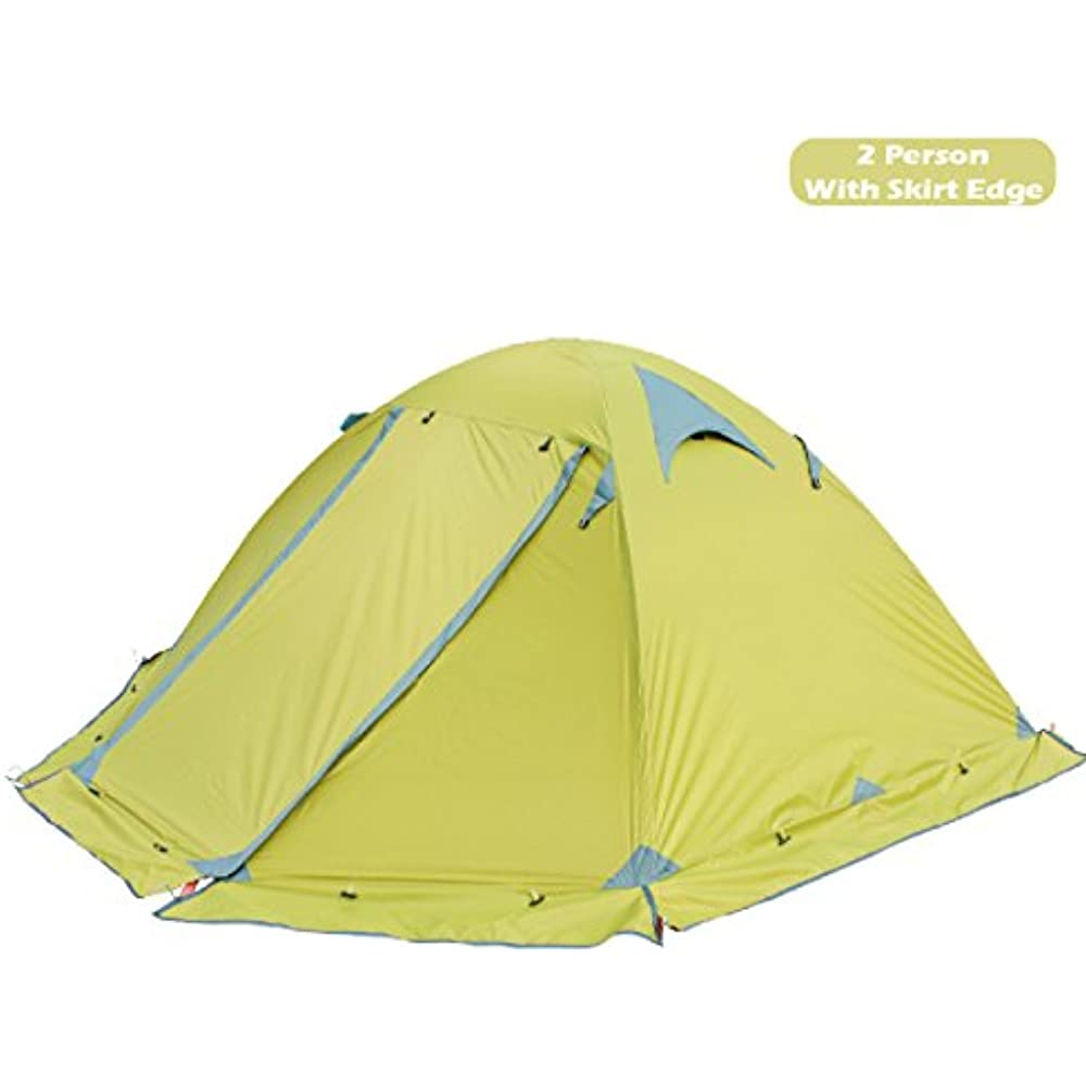 Details about 1 Backpacking Tents 2 Person 3 4 Season Easy Set Up Waterproof Lightweight Layer  sc 1 st  eBay & 1 Backpacking Tents 2 Person 3 4 Season Easy Set Up Waterproof ...