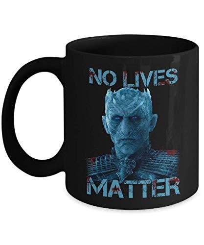 No Lives Matter Night King Horror Halloween Mug - Halloween 2018 Gift -