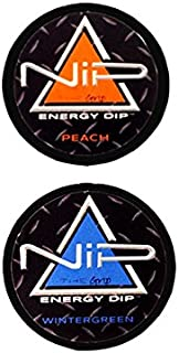amazon com nip the grip energy dip wintergreen ice 5 health rh amazon com new grizzly tobacco logo grizzly tobacco login