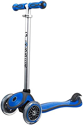 Amazon.com: Globber 3 Rueda 5-in-1 Convertible Scooter ...