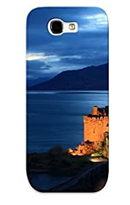 Podiumjiwrp Shockproof Scratcheproof Eilean Donan Castle, Scotland Hard Case Cover For Galaxy Note 2 For Lovers