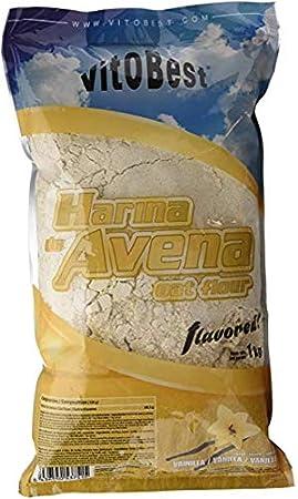 VITOBEST HARINA DE AVENA SABORES (1KG) - VAINILLA: Amazon.es ...