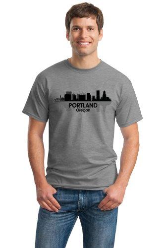 PORTLAND, OR CITY SKYLINE Unisex T-shirt / Portlandia, Beervana Oregon Tee