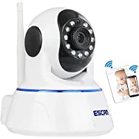 Twinbuys Wireless Cameras,Baby Monitor,Home Security Camera,HD,IP Camera,P2P Network Camera, Video Monitoring,Vision/ Motion Detection / Memory Card Slot / PC iPhone Android Two Way Audio QF002